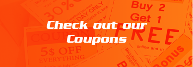 Tire and auto service coupons